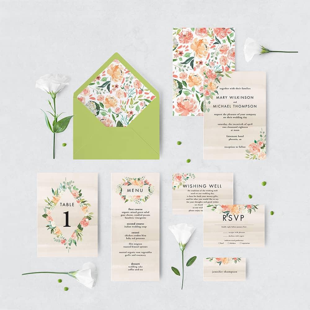 Etsy Printable Wedding Invitations - Eyestigmatic Design